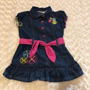 Carters Watch the Wear Jean Dress, toddlers
